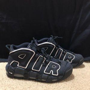 Nike air more uptempo navy blue